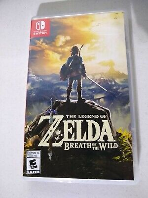 Legend of Zelda: Breath of the Wild (Nintendo Switch, 2017) Used