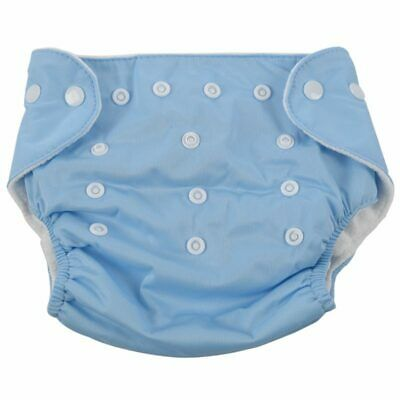 [QianQuHui] 0-3 Years Old Baby Reusable Nappies Adjustable Washable Breathable C
