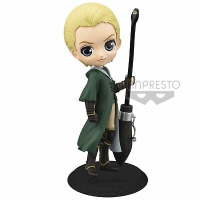 NEW! Banpresto Q Posket Harry Potter Draco Malfoy Quidditch Style (Normal Colour
