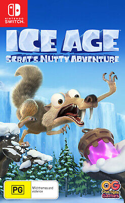 Ice Age: Scrat's Nutty Adventure - Nintendo Switch Brand new and sealed
