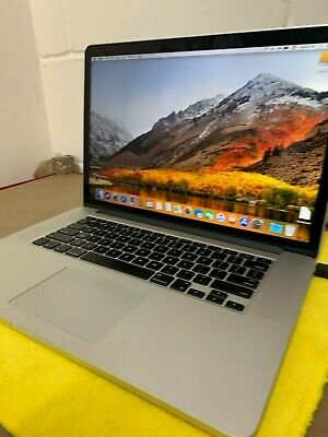 "Apple MacBookPro10,1 15-Inch ""Core i7""- 3rd GEn - 2.60GHz Retina 2012 - A1398"