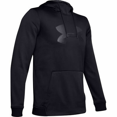 Mens Under Armour Armour Fleece Big Logo Graphic Pullover Hoodie - 2XL - NWT