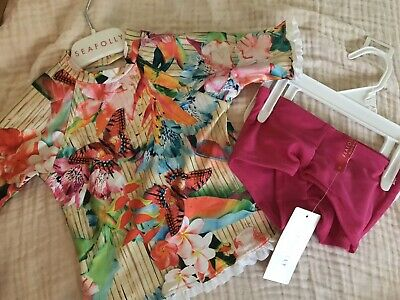 Baby Girl Seafolly Swimsuit BNWT Size 0