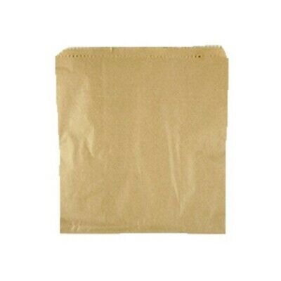 NEW Brown Paper Sandwich Bags - 240mm - PACKET(500) - Kent Paper
