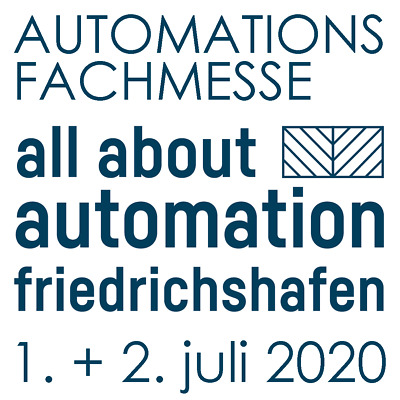 aaa all about automation s Messe 2020 Friedrichshafen Ticket Code Eintrittskarte