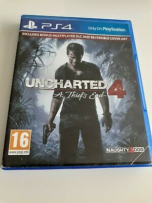 Uncharted 4 - A Thief's End - Ps4 - Excellent Condition