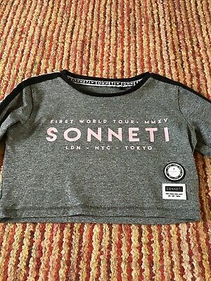 Girls Crop Top By Sonneti Age 12-13