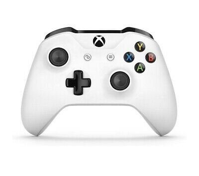 Official Microsoft Xbox One Wireless Controller - White New