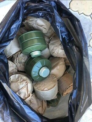 Original NEW Soviet Russian USSR Gas Mask Filter GP-5/GP-7/GP-4 1 pieces