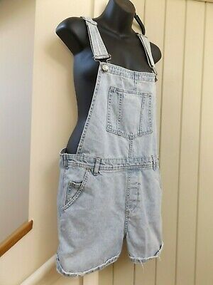 Gorgeous Topshop Moto Festival Shorts Jeans Dungarees..size 12..Next Day Postage