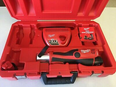 NEW Milwaukee 2473-20 M12 FORCE LOGIC Press Tool Kit with Case - NO JAWS