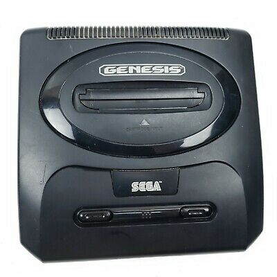 Sega Genesis Video Game Console Model 2 MK-1631 UNTESTED FOR PARTS ONLY