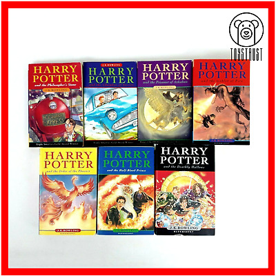 Harry Potter Books Complete 1-7 Book Set Collection Mixed Paperback Hardback H4