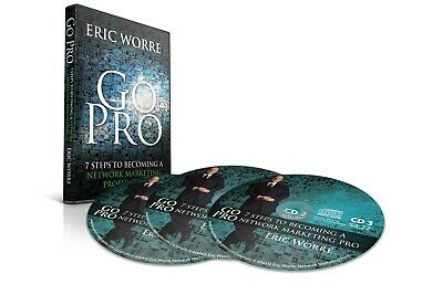 GO PRO 7 Steps to Becoming a Network Marketing Pro - Eric Worre Audio CD set