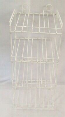 Store Fixture Supplies Wire Counter Top/Pegboard Display Rack 12 Compartments