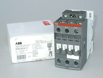 ABB AF26-30-00-11 Contactor 45A 11KW FOR 24-60VAC//DC   NEW IN BOX!!!