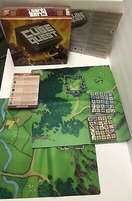 Cube Quest Clash For The Crown Board Game - RARE & OOP - Only 1 Player Guide