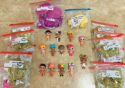 LOL Surprise Lights Glitter Dolls+LE Spring Bling+hairvibes lot of 13 NEW SEALED