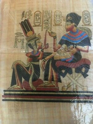 "Ancient Egyptian Papyrus Large 17""x 25""     P16"