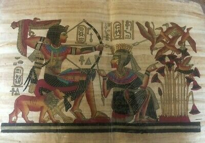 "Ancient Egyptian Papyrus Large 17""x 25""     P17"