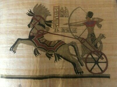 "Ancient Egyptian Papyrus Large 17""x 25""     P18"