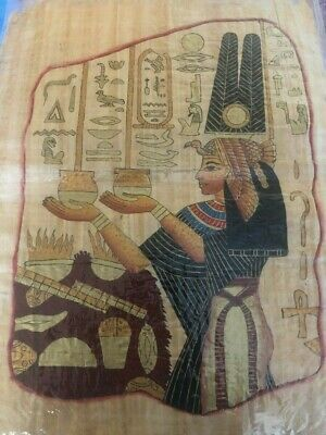 "Ancient Egyptian Papyrus Large 17""x 25""     P20"