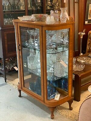 1950's Teak Display Cabinet / China Cabinet