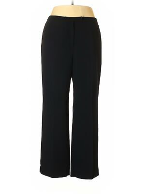 Tahari by ASL Women Black Dress Pants 16 Petites