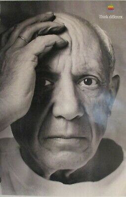 Picasso | Apple | Think Differently - 1997 Advertising Campaign Poster