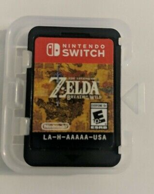 The Legend of Zelda Breath of The Wild (2017, Nintendo Switch)