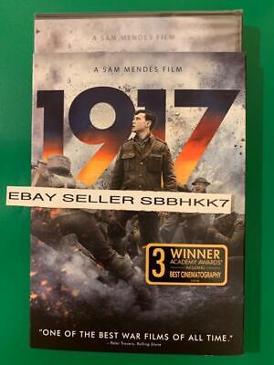 1917 DVD & Slipcover {{{AUTHENTIC READ DESCRIPTION}}} New Sealed Free Shipping