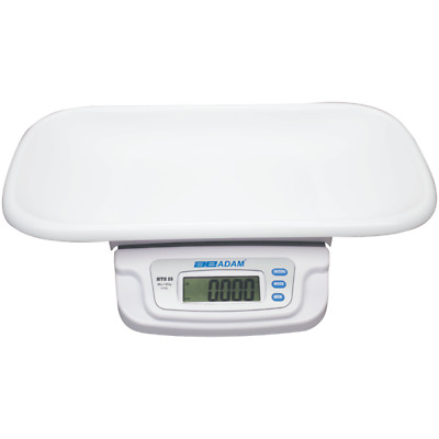 Adam Equipment MTB 20, Baby and Toddler Scale, 44lb / 20kg x 0.005lb / 5g