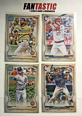 2020 Topps Gypsy Queen Logo Swap / No Nameplate Parallel YOU PICK inc RC, SP etc