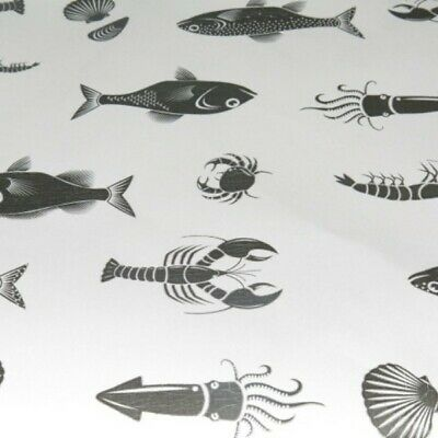 NEW Fish Shop Seafood Wrap Seafood Print Sheets - Large 610mm