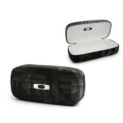 Oakley Square O Protective Hard Case For Sunglasses Black Headliner
