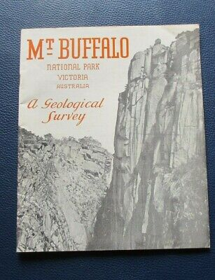 1967 Mt. Buffalo National Park Victoria Australia A Geological Survey Vic Railwa
