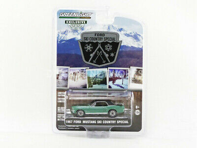Greenlight Collectibles - 1/64 - Ford Mustang Coupe - Ski Country Special - 1967