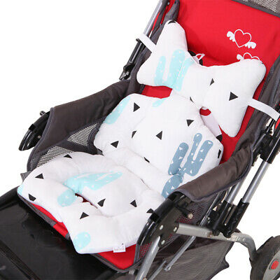 Newborn Baby Car Seat Stroller Cushion Pad Liner Soft Mat Body & Head Support