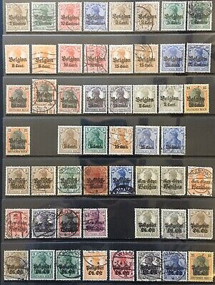 Germany 1914-1918 Occupied Territories - Belgium, Poland etc MNH/MLH & Used