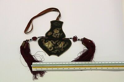 Antique Chinese EMBROIDERED Purse No 3