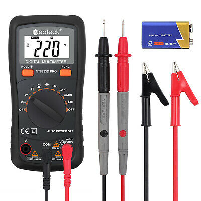 Damp Meter Digital LCD Moisture Detector Wood Test Humidity Caravan Tester Pro