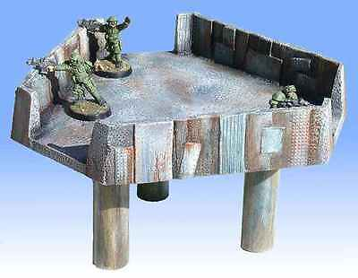 New Unpainted 1pc Armorcast 28mm Resin Terrain ACRD010 Snipers Position