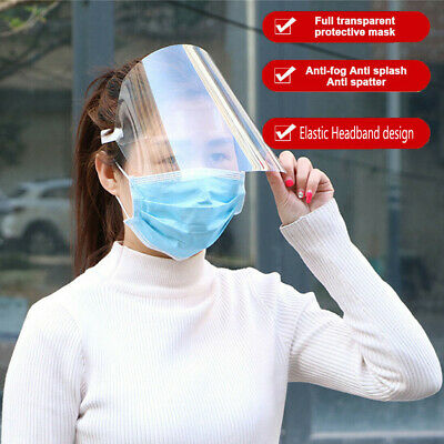 SAFETY FACE SHIELD With CLEAR FLIP-UP VISOR Shop Garden Industry Dental Medical