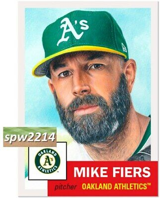 Topps Living Set Mike Fiers #298