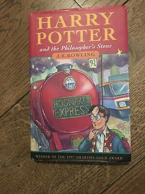 Harry Potter and the Philosopher's Stone 1st edition 4th print Hardback