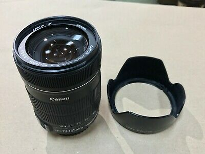 Canon EF-S 18-135mm f/3.5-5.6 IS STM Zoom Lens With EW-73B Hood