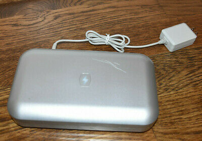 Phone Soap UV Sanitizer & Phone Charger by Lori Greiner Silver Used