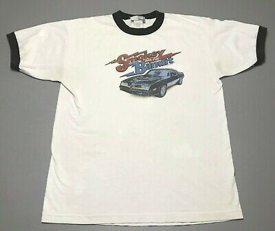 Vintage 90s Smokey And The Bandit Movie Universal Studios T-Shirt Adult Size L