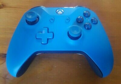 Official Microsoft Xbox One S 1708 Vortex Blue Wired Controller!