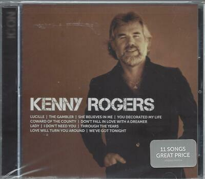 Kenny Rogers Icon Lucille The Gambler She Believes In Me  Lady New Cd